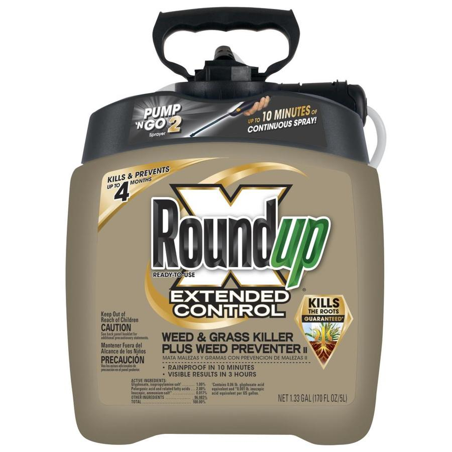 Roundup Pump-N-Go 170.24-oz Extended Control Weed and Grass Killer Plus Preventer