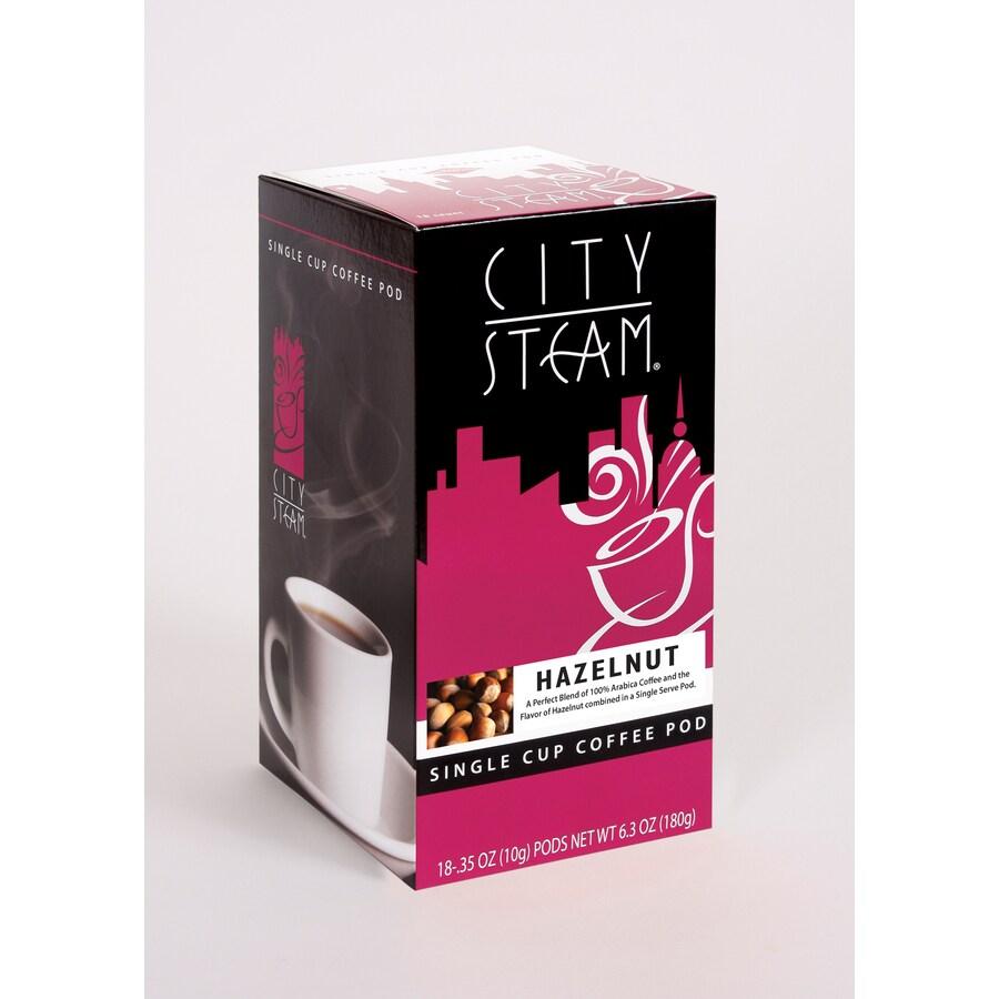 City Steam 18-Pack Hazelnut Single-Serve Coffee