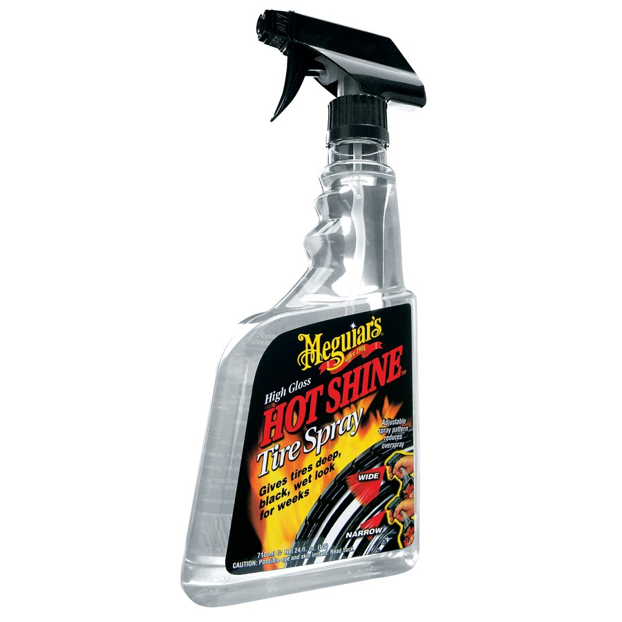 Meguiar's Hot Shine Tire Spray 24-fl oz Car Exterior Cleaner