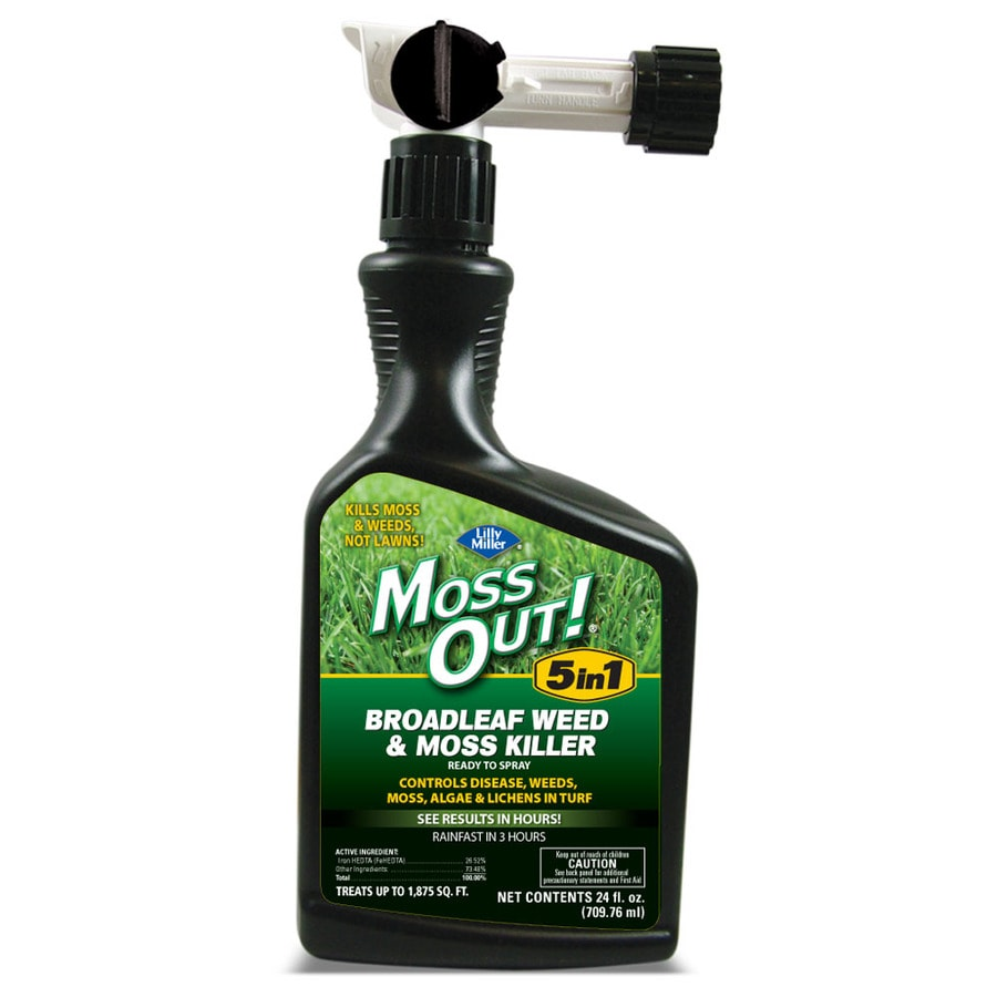 Moss Out! 24-oz Liquid Moss and Algae Control Concentrate