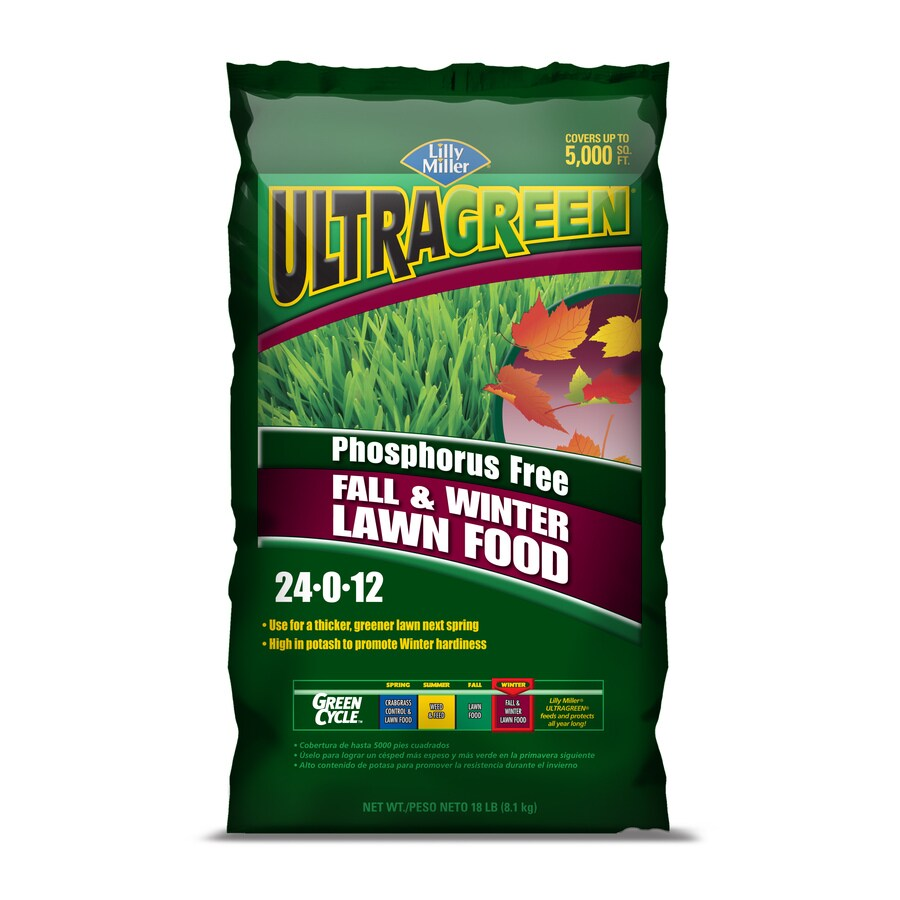 Ultragreen 5,000-sq ft Ultragreen Fall/Winter Lawn Fertilizer (24-0-12)