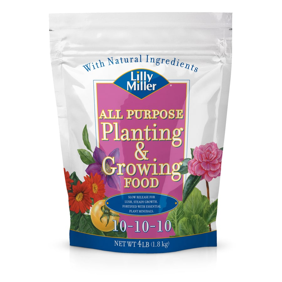 Lilly Miller 4-lb All Purpose Food (10-10-10)