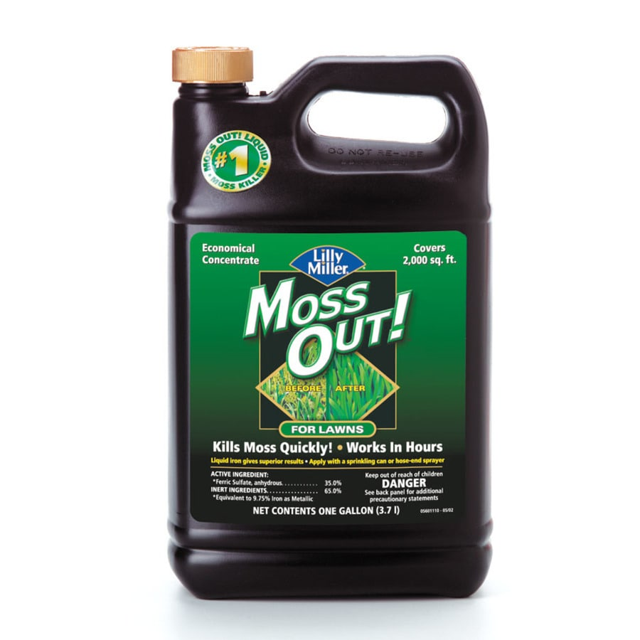 Moss Out! 128-oz Liquid Moss and Algae Control Concentrate