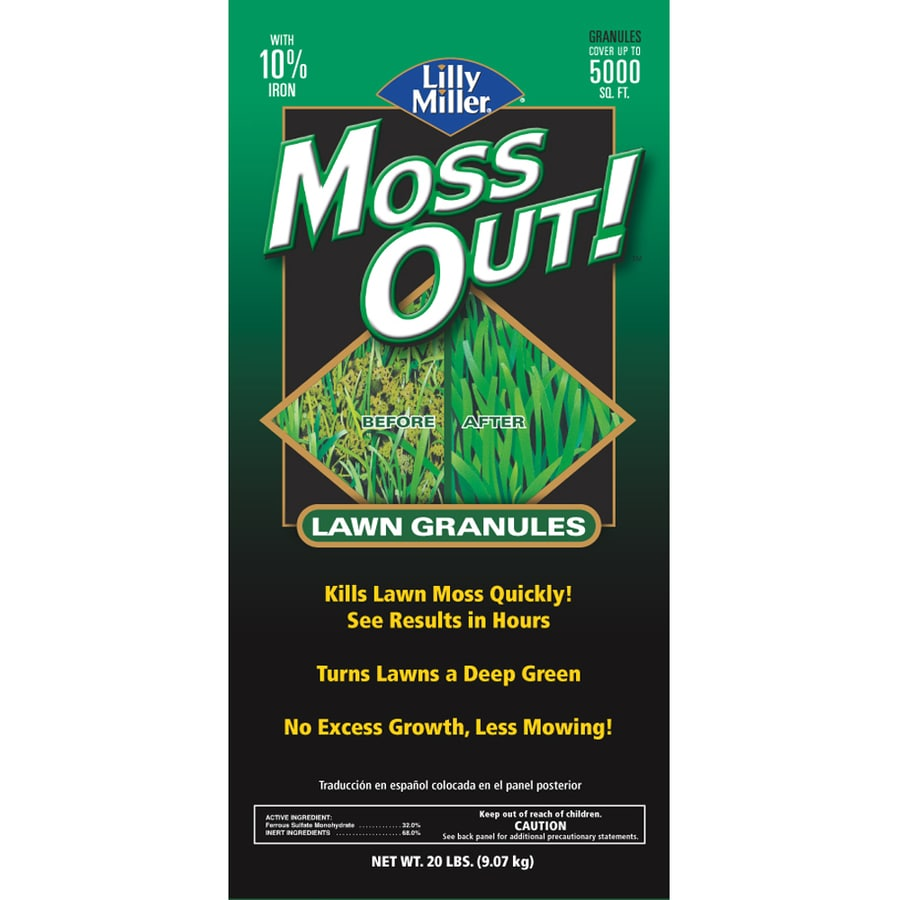 Moss Out! 20-lbs Granular Moss and Algae Control Bag