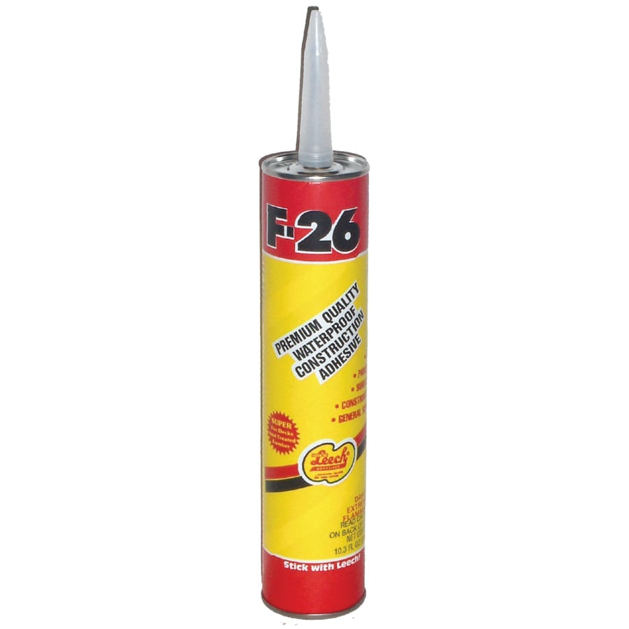 Leech Adhesives 10.3-oz Construction Adhesive