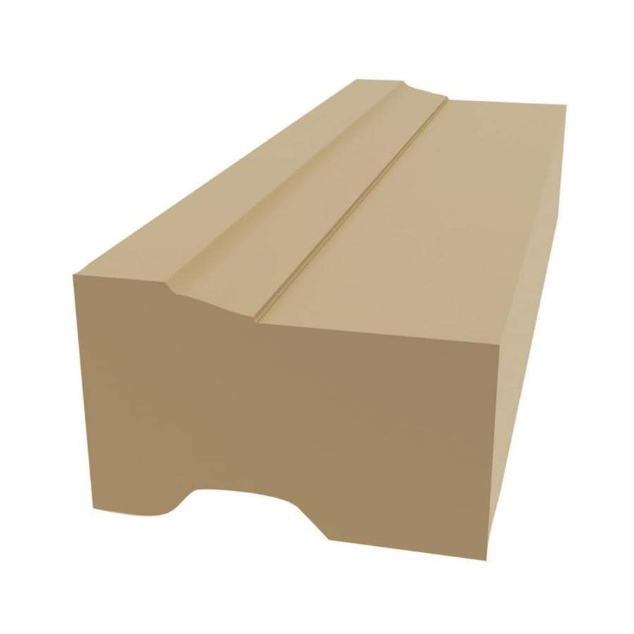 Shop Royal Mouldings Limited 2 In X 8 Ft Interior Exterior Prefinished Pvc Brick Window And Door