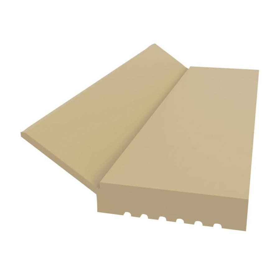 Royal Mouldings Limited 2-in x 9-ft Interior/Exterior PVC Baseboard