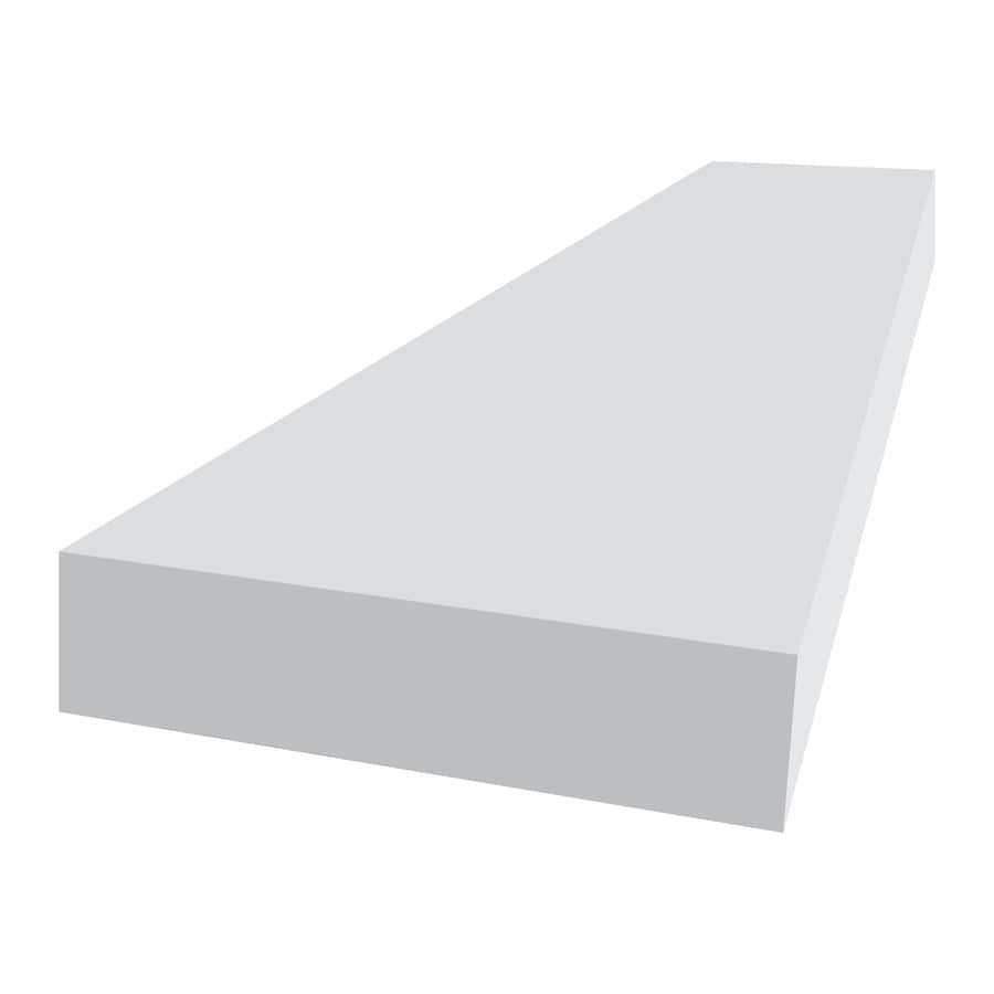 Royal Mouldings Limited PVC Board (Actual: 0.75-in x 3.5-in x 10-ft)