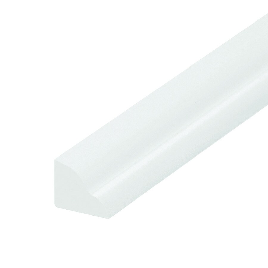 EverTrue 0.5-in x 8-ft Interior/Exterior PVC Stop Window Moulding