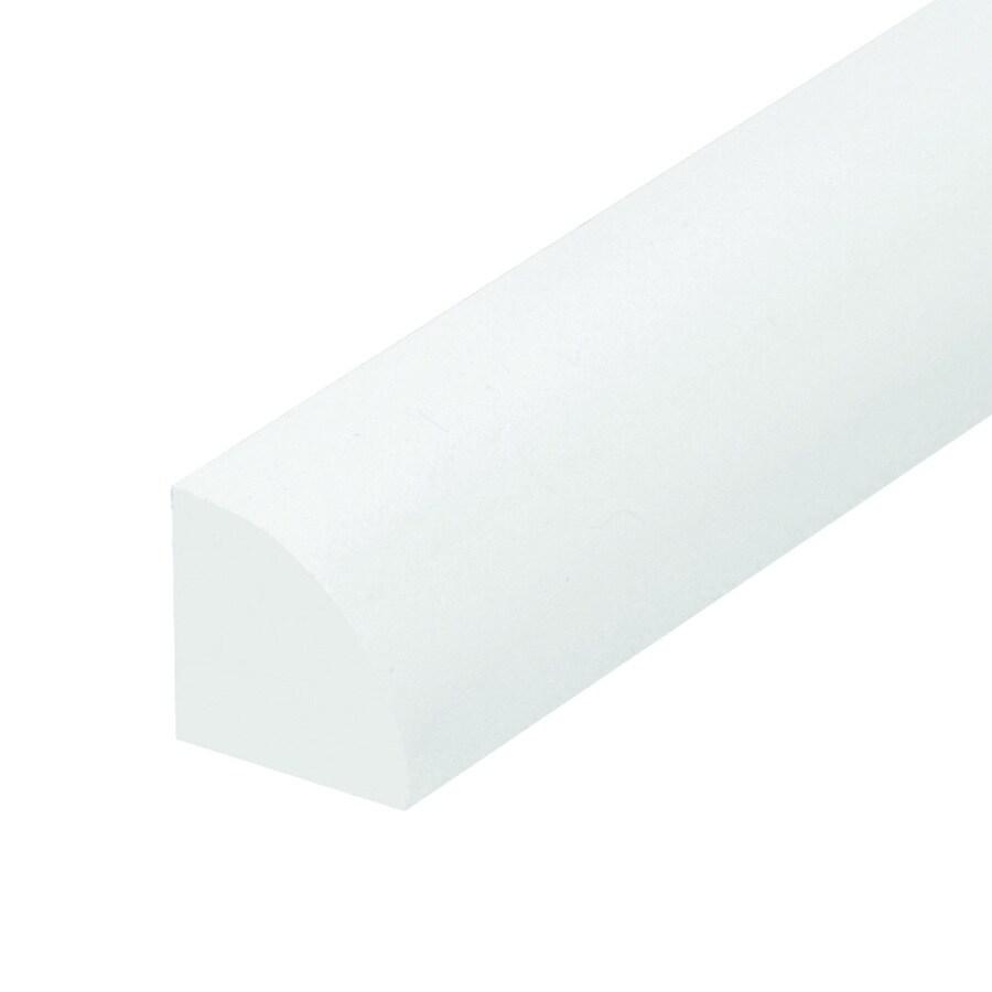 EverTrue PVC White Quarter Round