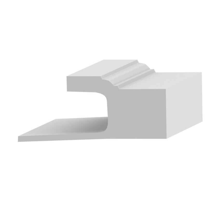 Royal Mouldings Limited 3-in x 8-ft Interior/Exterior Prefinished Pvc Brick Window and Door Casing