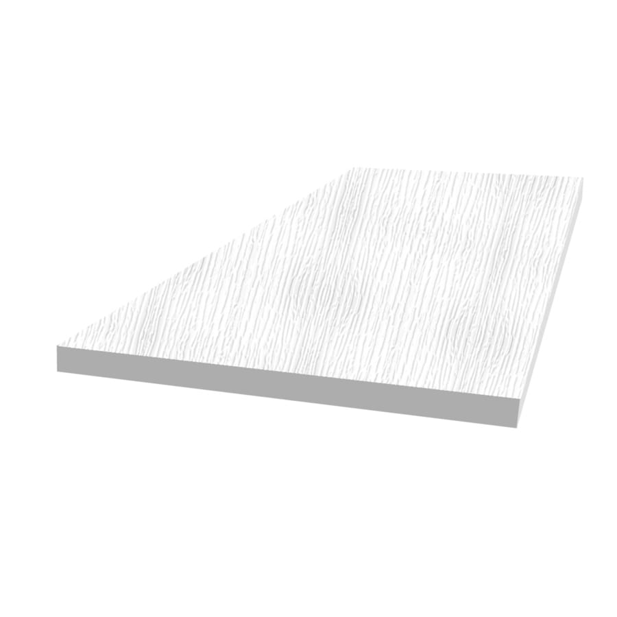 Royal Mouldings Limited PVC Board (Actual: 0.375-in x 48-in x 8-ft)