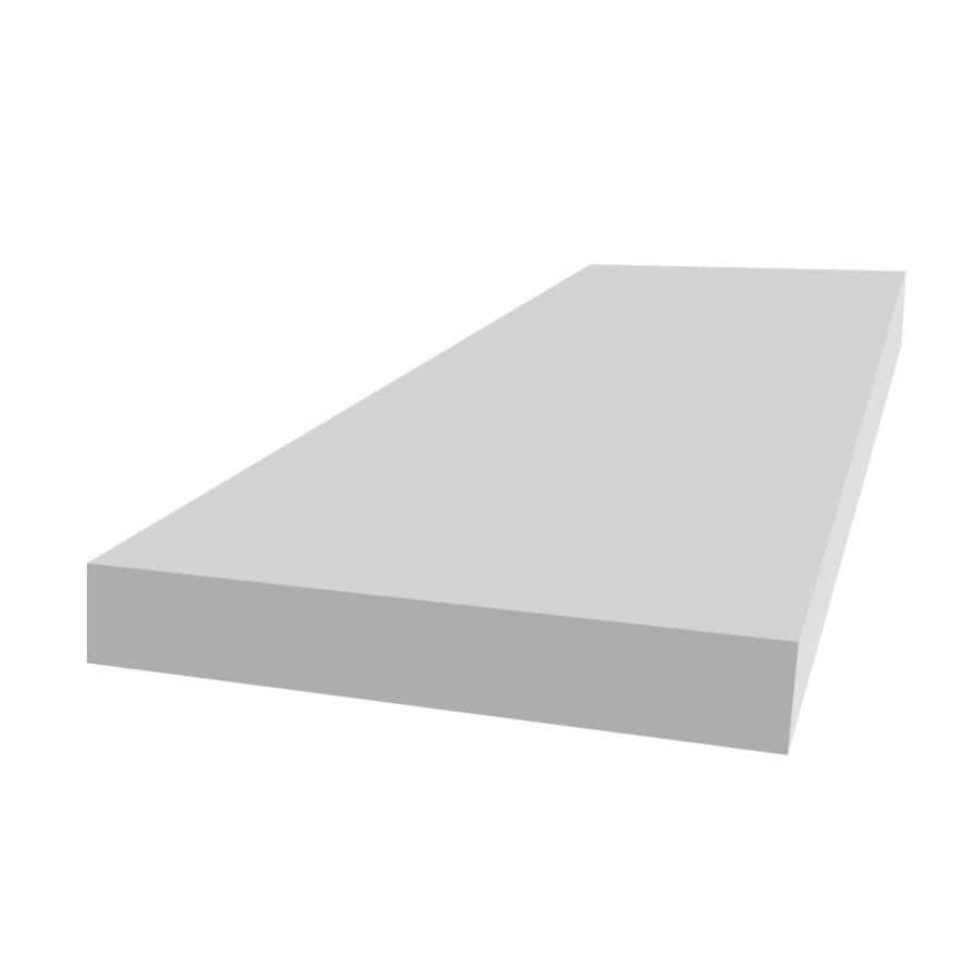 Royal Mouldings Limited PVC Board (Actual: 0.75-in x 7.25-in x 16-ft)