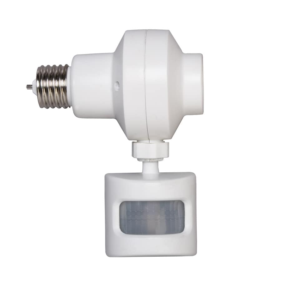 AmerTac White Screw-In Motion Sensor
