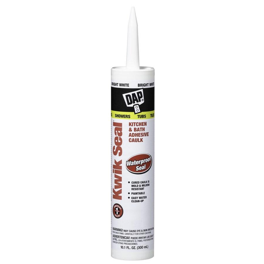 DAP 10.1-oz White Paintable Tub and Tile Latex Kitchen and Bathroom Caulk