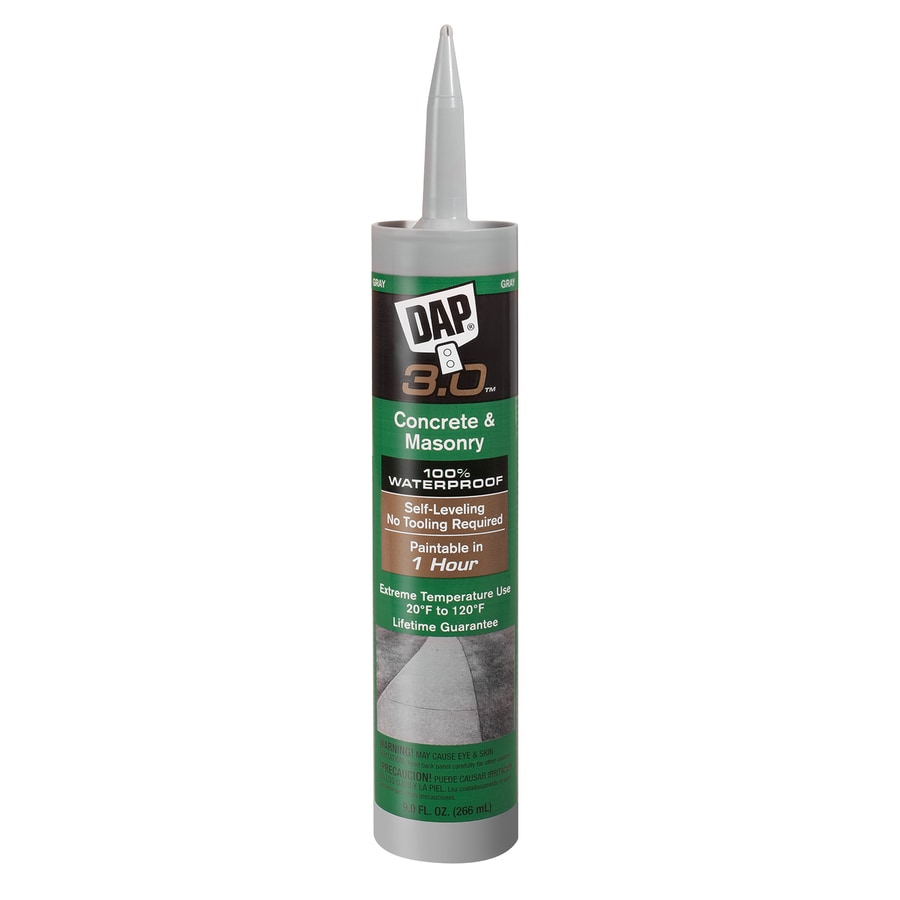 Shop DAP 3.0 Series 9-oz Gray Paintable Silicone Specialty