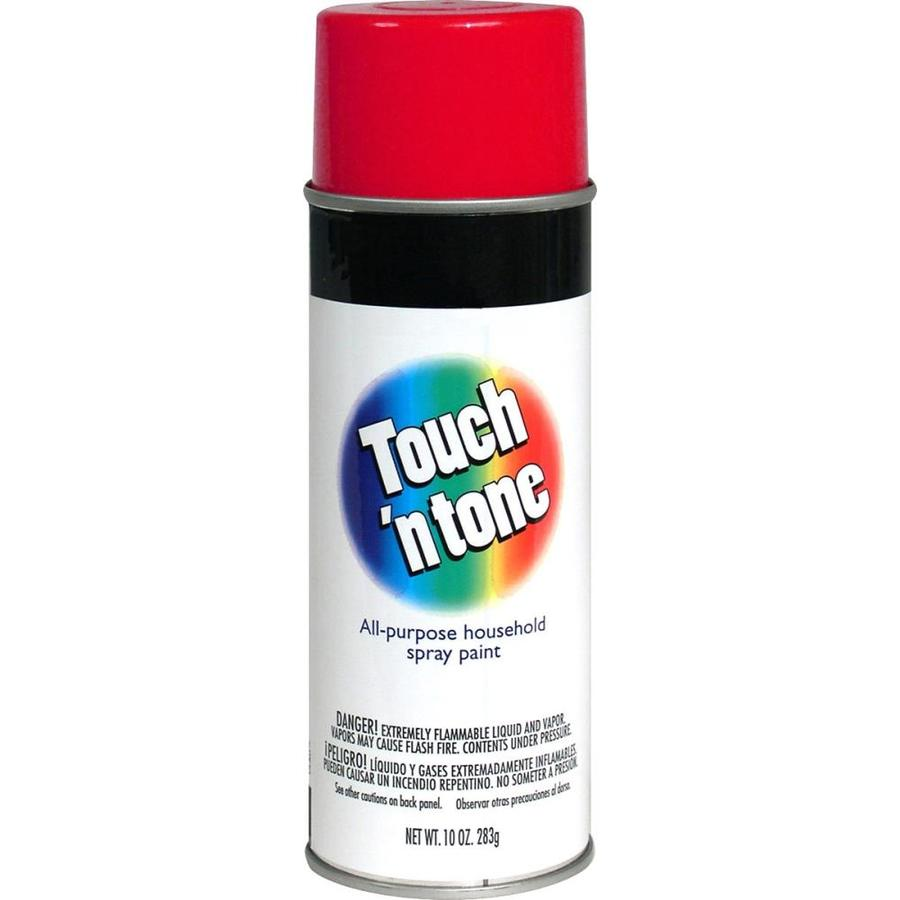 Rust-Oleum Touch N Tone Cherry Red Fade Resistant Enamel Spray Paint (Actual Net Contents: 10-oz)