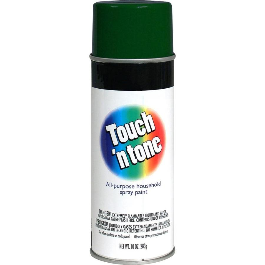 Rust-Oleum Touch N Tone Hunter Green Fade Resistant Enamel Spray Paint (Actual Net Contents: 10-oz)