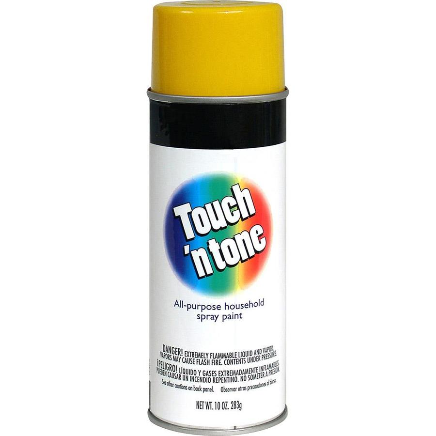Rust-Oleum Touch N Tone Canary Yellow Fade Resistant Enamel Spray Paint (Actual Net Contents: 10-oz)