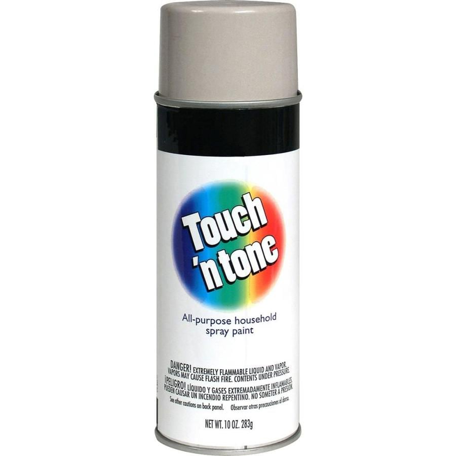 Rust-Oleum Touch N Tone Aluminum Metallic Fade Resistant Enamel Spray Paint (Actual Net Contents: 10-oz)