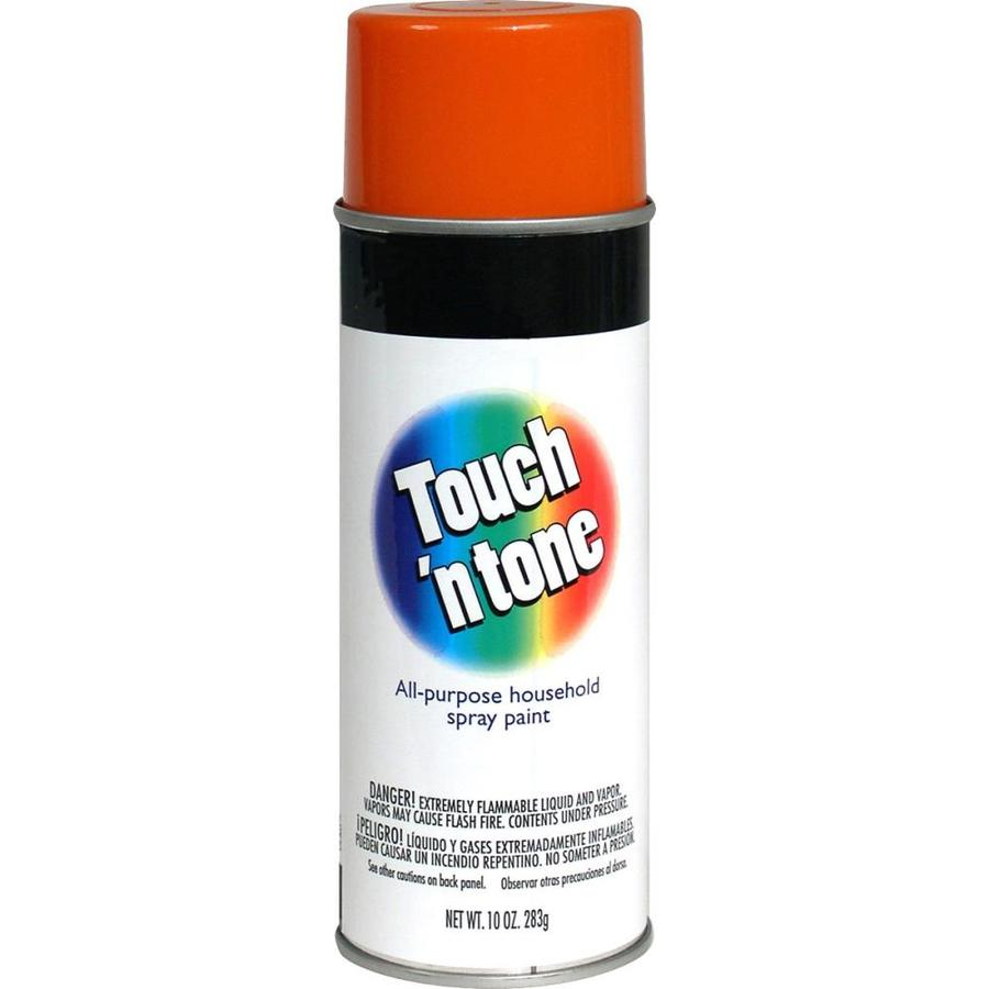 Rust-Oleum Touch N Tone Orange Fade Resistant Enamel Spray Paint (Actual Net Contents: 10-oz)