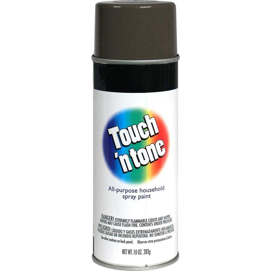 Rust-Oleum Touch N Tone Dove Gray Fade Resistant Enamel Spray Paint (Actual Net Contents: 10-oz)