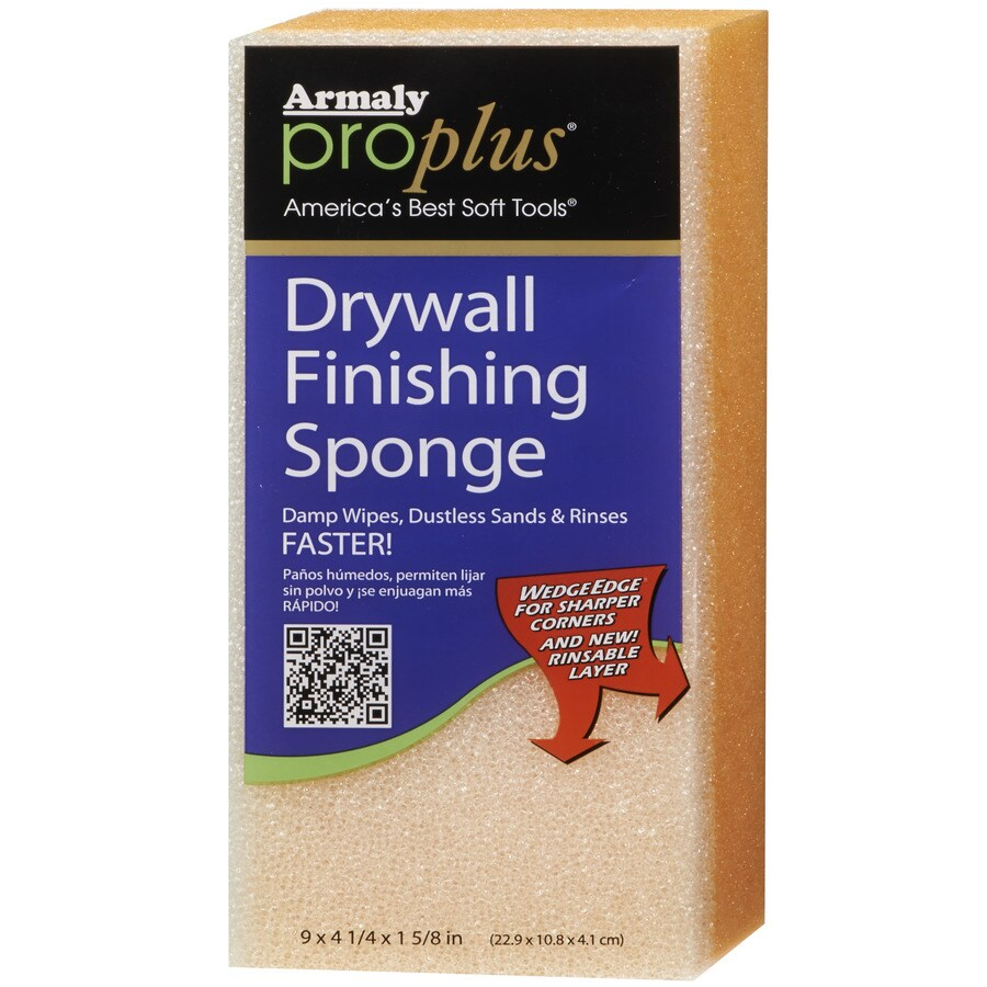 Armaly ProPlus 4.25-in x 9-in Drywall Finishing Sponge Hand Sander