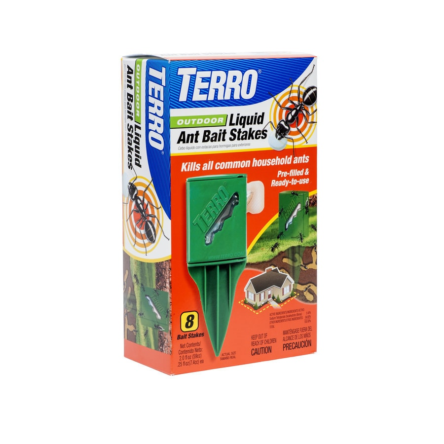 TERRO 8-fl oz Outdoor Liquid Ant Bait Stakes
