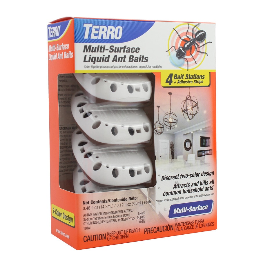 Terro 4 Count Ant Bait Station 4 Pack In The Pesticides Department At Lowes Com
