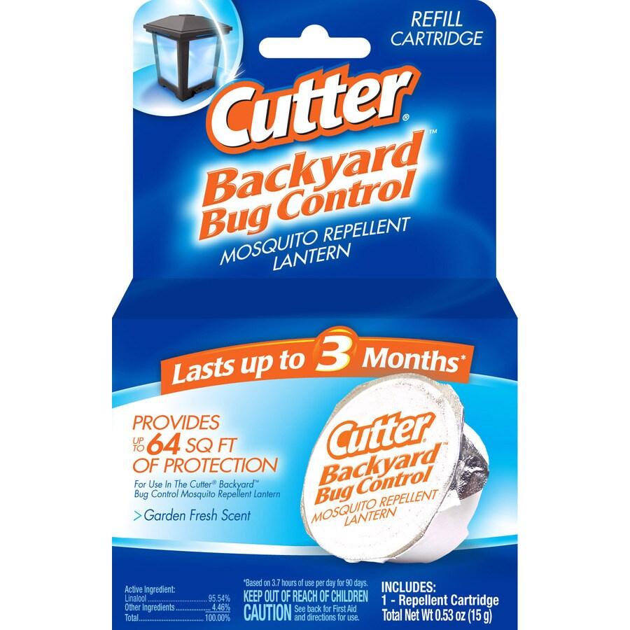 Cutter 1 Ct. Backyard Bug Control Mosquito Repellent Lantern Refill