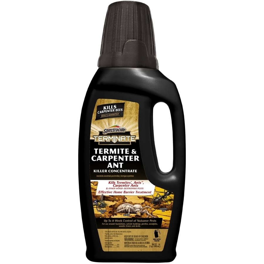 Spectracide Terminate Termite And Carpenter Ant 32 Fl Oz Concentrate Insect Killer In The Pesticides Department At Lowes Com