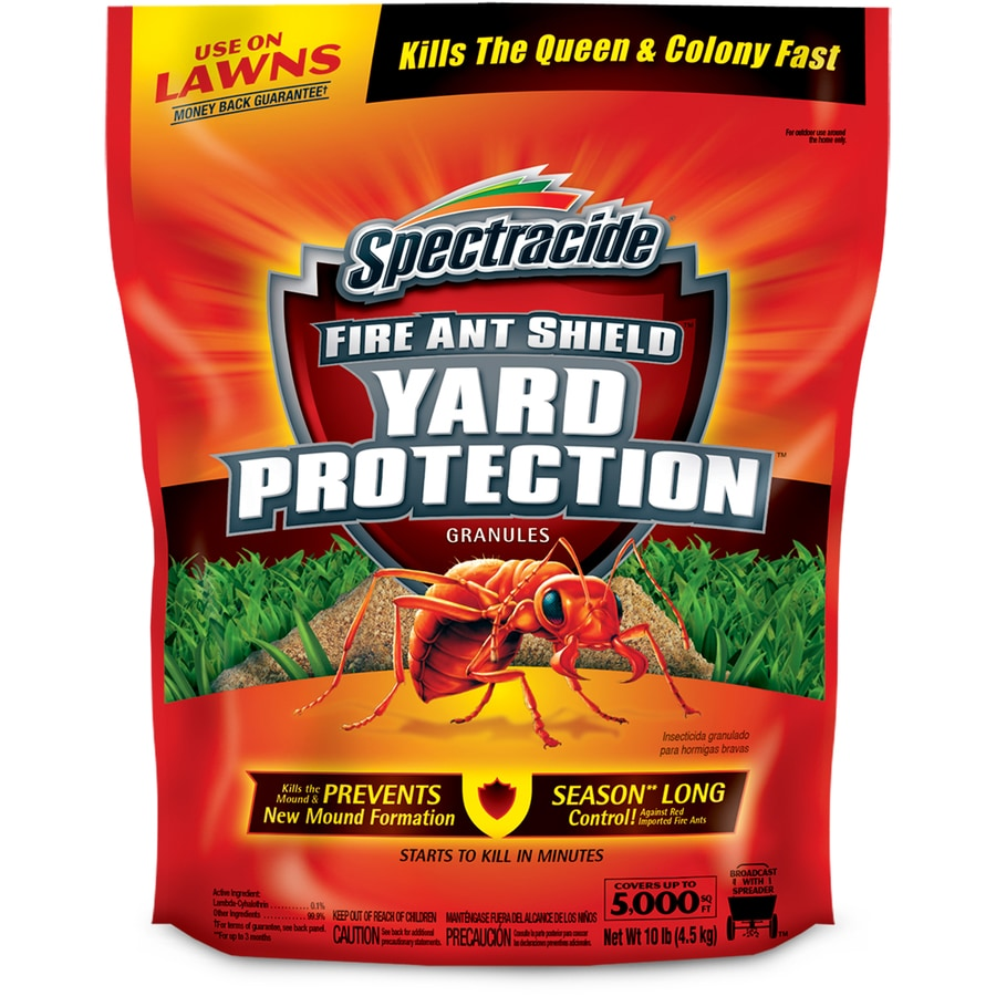 Spectracide Fire Ant Shield Yard Protection Granules 10 Lb Ant Killer In The Pesticides Department At Lowes Com