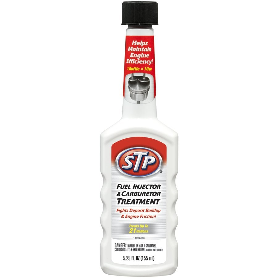 STP 5.25 Oz. Fuel Injector & CARB Treatment