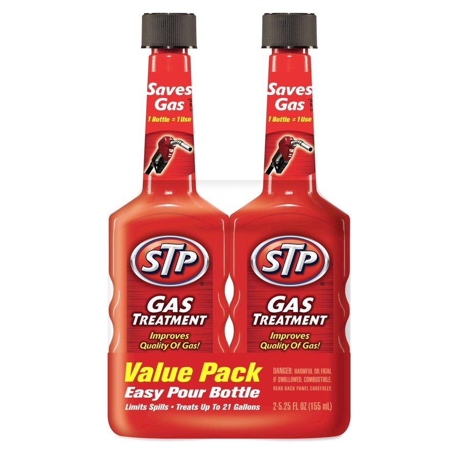 STP 2-Pack 5.25 Oz. Gas Treatment