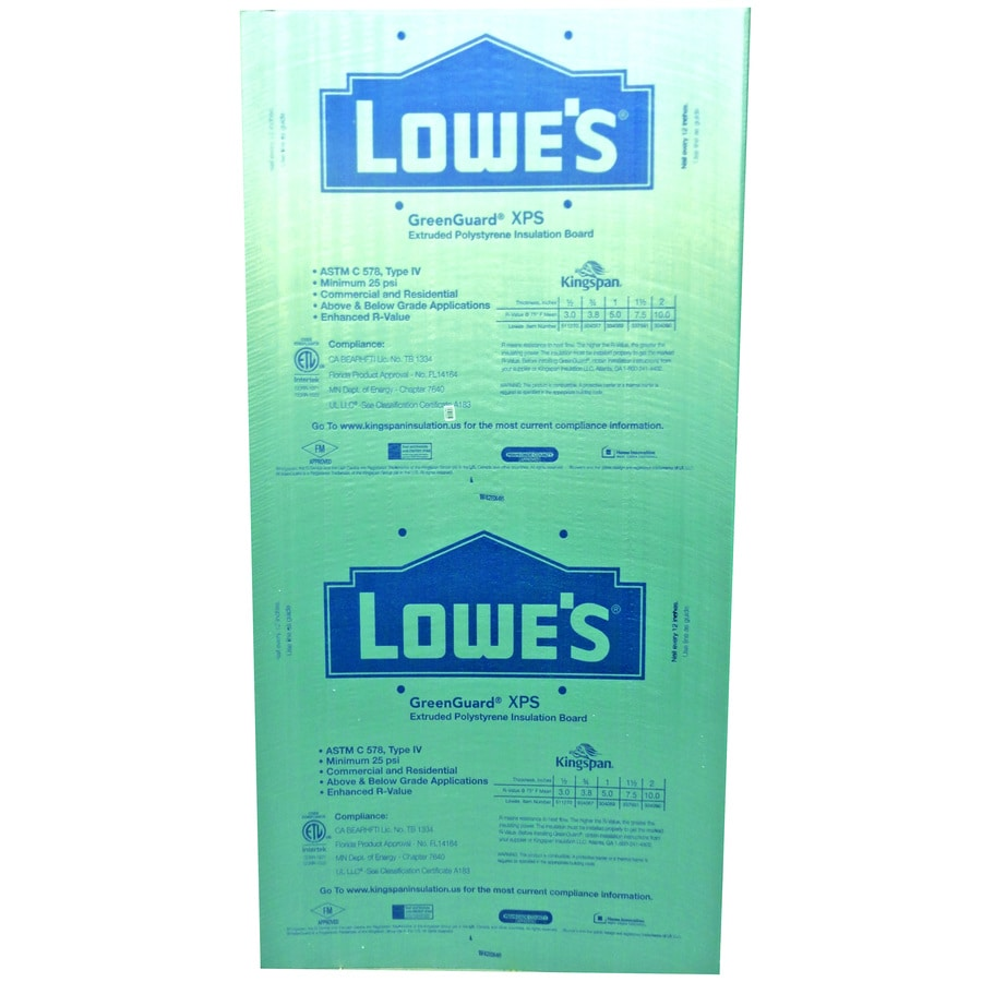 Pactiv R 7.5 Unfaced Polystyrene Foam Board Insulation (Common: 1.5-in x 4-ft x 8-ft; Actual: 1.5-in x 4-ft x 8-ft)