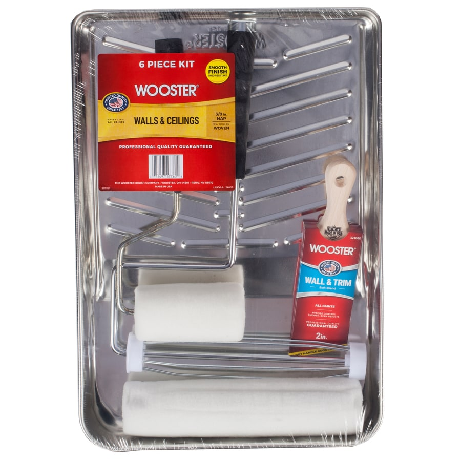 Wooster 6-Piece Paint Applicator Kit