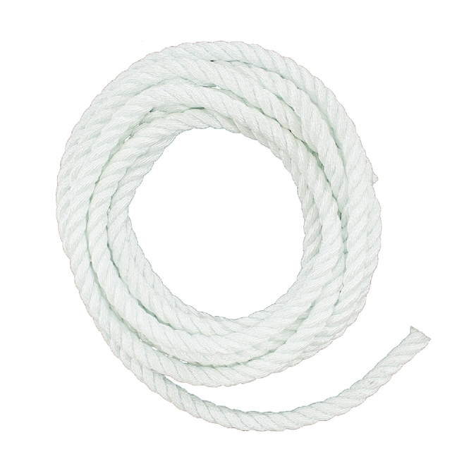 Lehigh 1 2 In X 50 Ft Twisted Nylon Rope By The Roll In The Rope By The Roll Department At Lowes Com