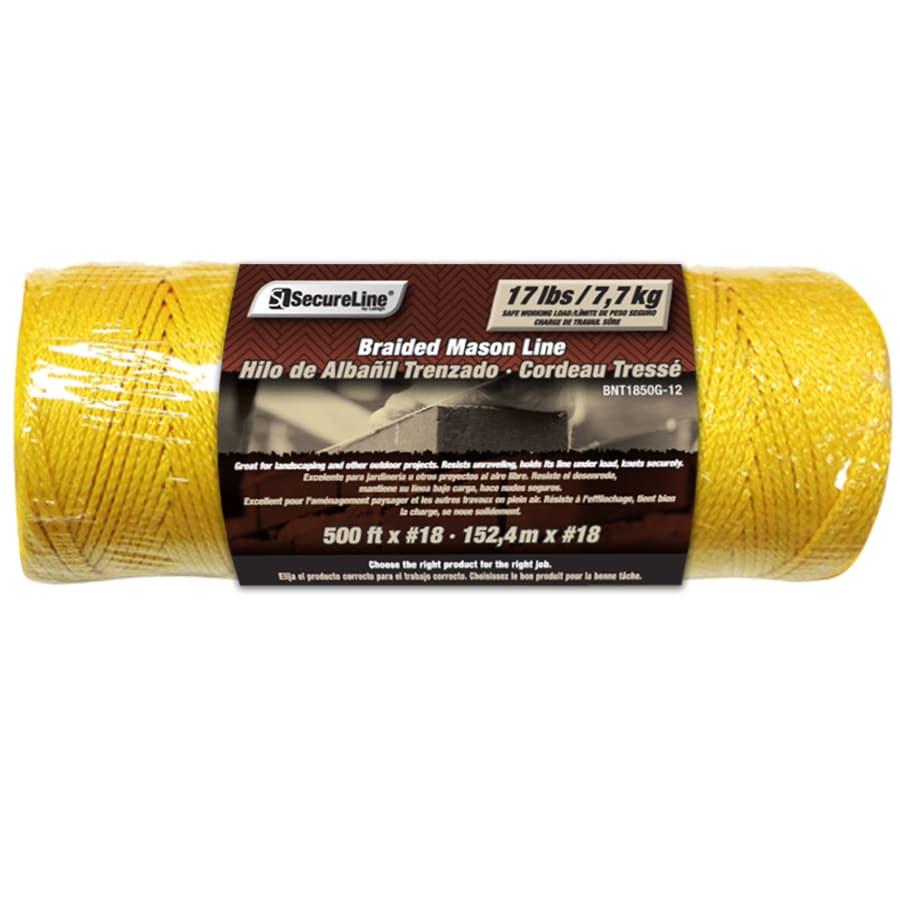Lehigh 1/16-in x 500-ft Braided Nylon Rope