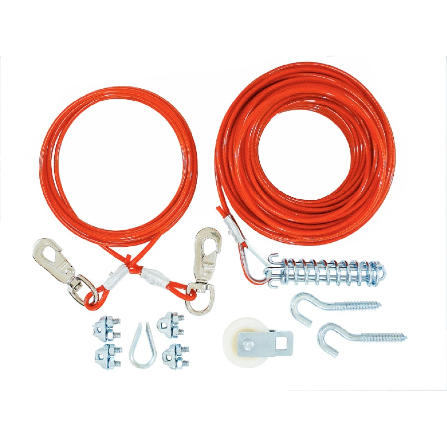 Lehigh 75' Weldless Red Cable
