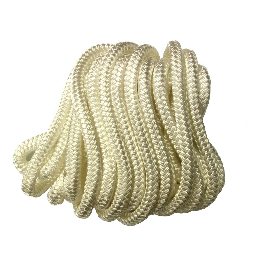 0.375-in x 50-ft Twisted Nylon Rope