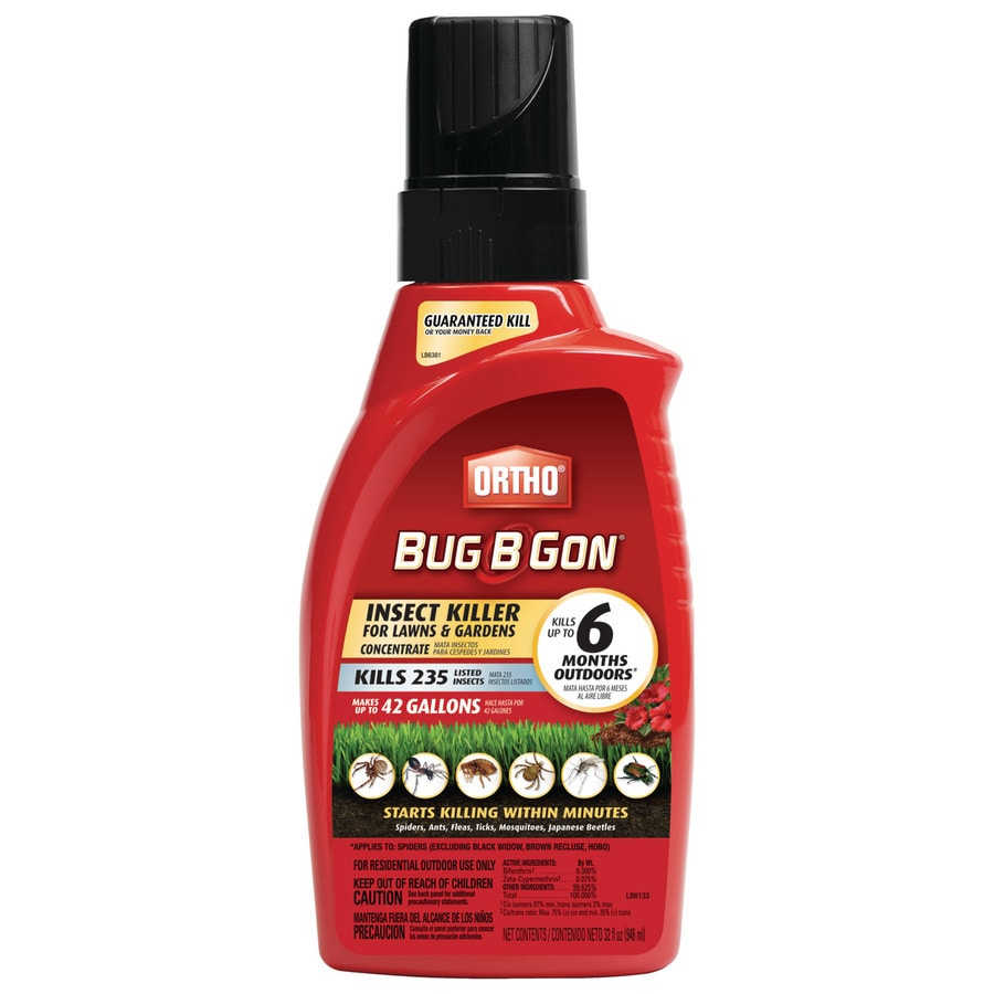 ORTHO 32-fl oz Bug-B-Gon Lawns and Gardens Insect Killer Concentrate