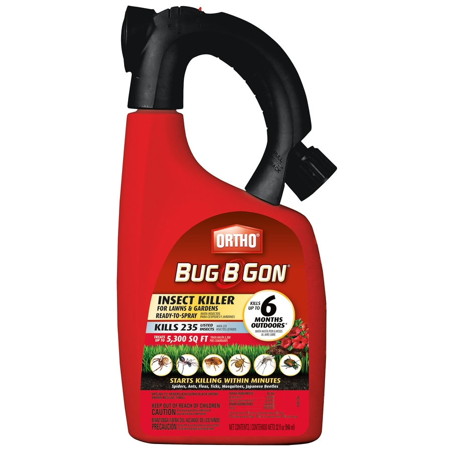 ORTHO 32-fl oz Bug B Gon Insect Killer for Lawns and Gardens Ready-to-Spray