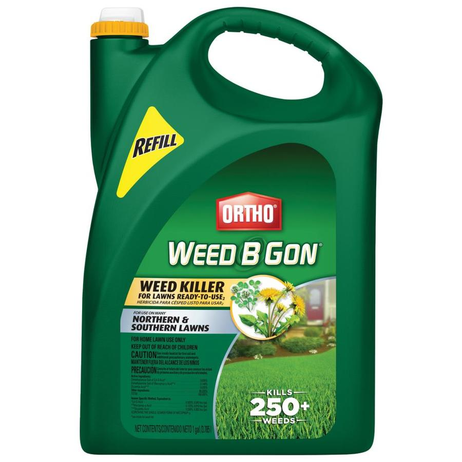 ORTHO Weed B Gon 1-Gallon Weed Killer for Lawns Ready-To-Use Refill