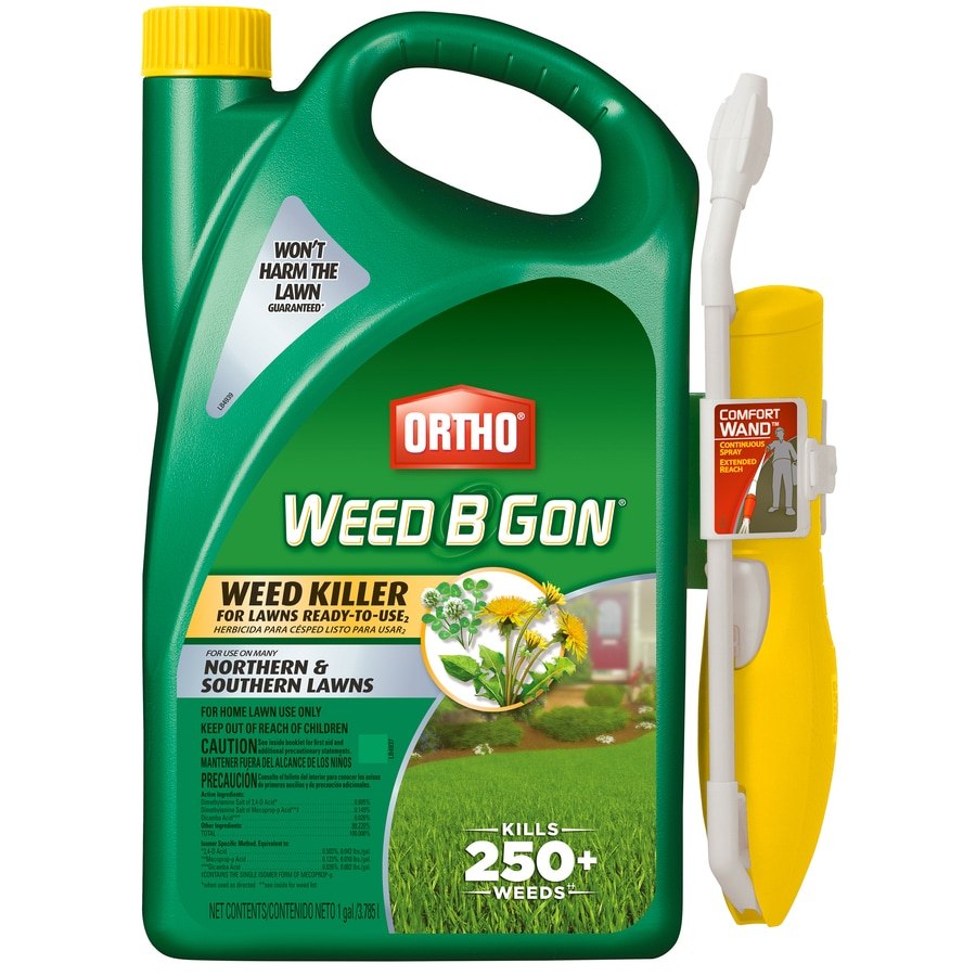 ORTHO 1-Gallon Weed B Gon Weed Killer for Lawns Ready-to-Use with Comfort Wand