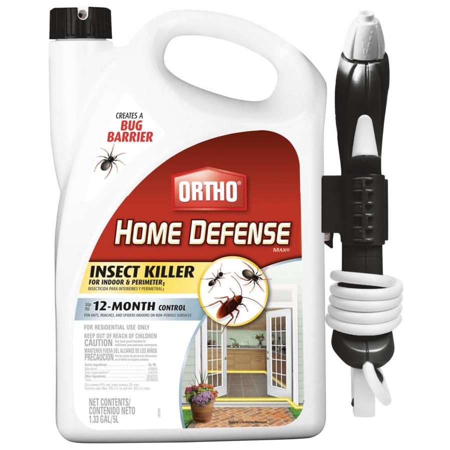 Ortho Home Defense Max 1 33 Gallon Pull N Spray Insect Killer For Indoor Perimeter In The Pesticides Department At Lowes Com