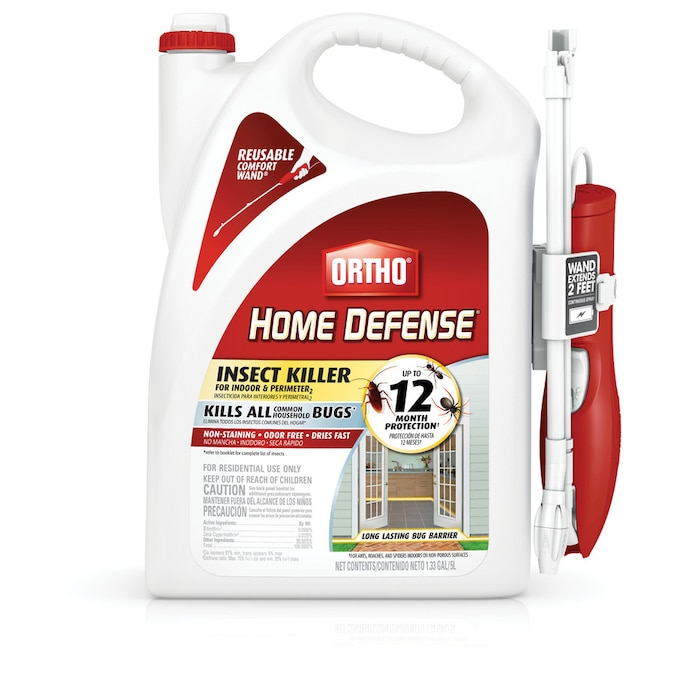 Ortho Home Defense 1 33 Gallon Insect Killer In The Pesticides Department At Lowes Com