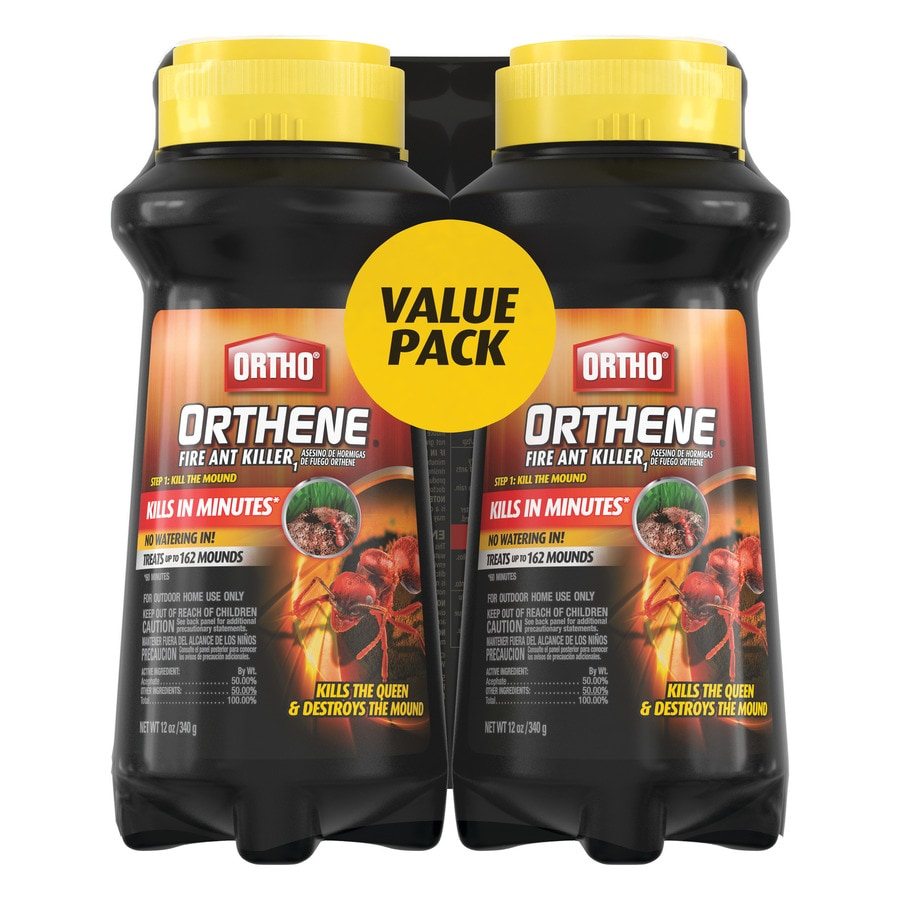 Ortho Orthene 24 Oz Fire Ant Killer 2 Pack In The Pesticides Department At Lowes Com