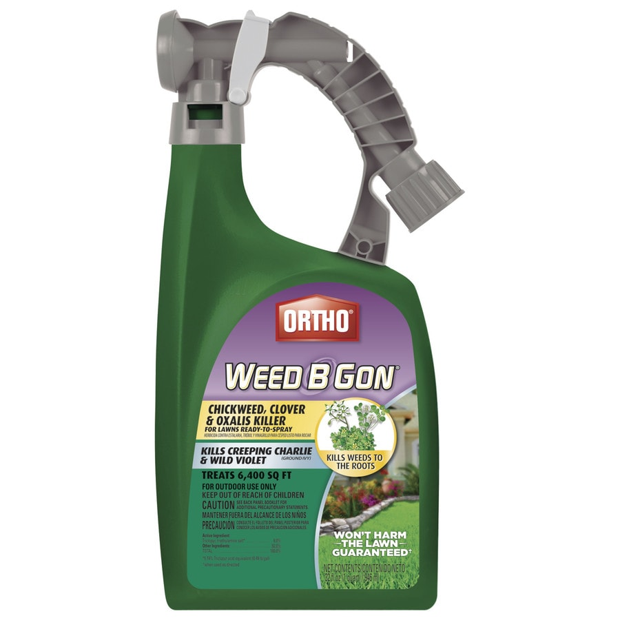 ORTHO 32-fl oz Weed B Gon Chickweed, Clover and Oxalis Killer for Lawns Ready-to-Spray