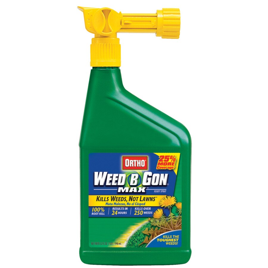 ORTHO 32-oz Weed-B-Gon Max Weed Killer for Lawns Ready-to-Spray