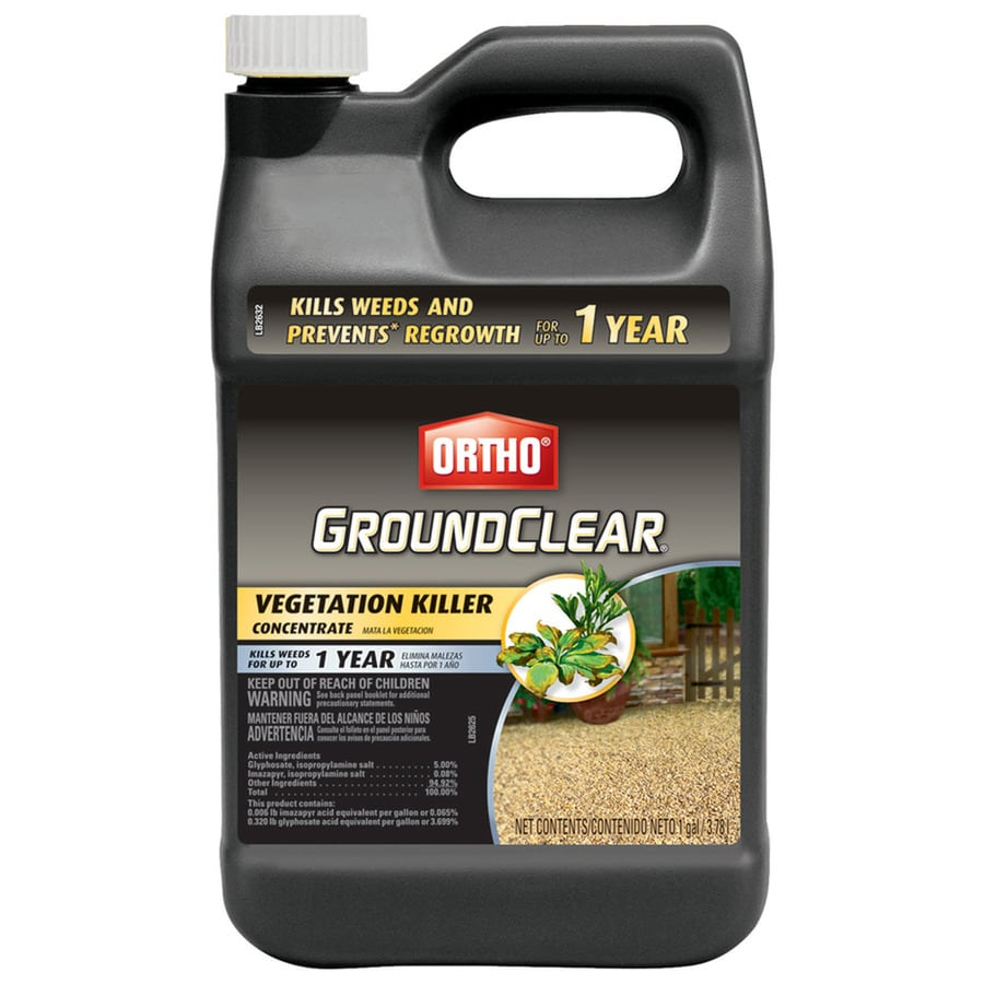 ORTHO GroundClear 128-oz Complete Vegetation Killer Concentrate